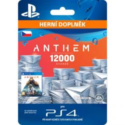 Anthem (CZ 12 000 Shards Pack) (Hra PS4)