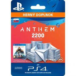 Anthem (SK 4600 Shards Pack) (Hra PS4)
