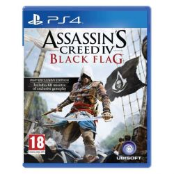 Assassin's Creed 4: Black Flag (Hra PS4)