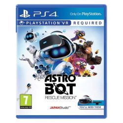 Astro Bot Rescue Mission (Hra PS4)
