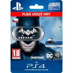 Batman: Arkham VR (CZ) (Hra PS4)