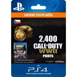 Call of Duty: WW2 Points - 2400 (CZ) (Hra PS4)