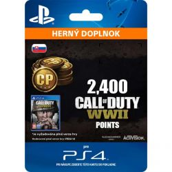 Call of Duty: WW2 Points - 2400 (SK) (Hra PS4)