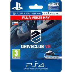 DRIVECLUB VR (CZ) (Hra PS4)