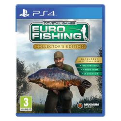 Euro Fishing (Collector's Edition) (Hra PS4)