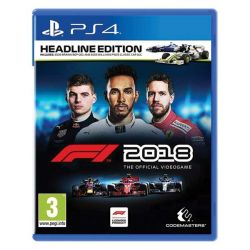 F1 2018: The Official Videogame (Headline Edition) (Hra PS4)