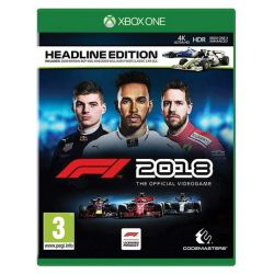 F1 2018: The Official Videogame (Headline Edition) (Hra XboxOne)