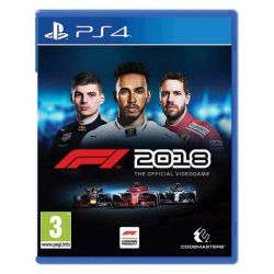 F1 2018: The Official Videogame  (Hra PS4)