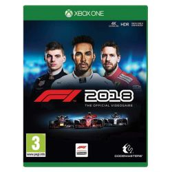 F1 2018: The Official Videogame  (Hra XboxOne)