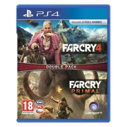 Far Cry 4   Far Cry: Primal CZ (Double Pack) (Hra PS4)