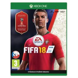FIFA 18 CZ (Hra XboxOne)
