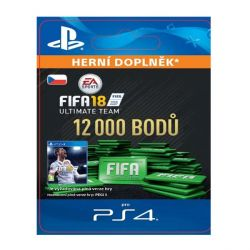 FIFA 18 Ultimate Team - 12000 FIFA Points CZ (Hra PS4)