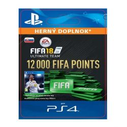 FIFA 18 Ultimate Team - 12000 FIFA Points SK (Hra PS4)