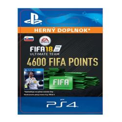FIFA 18 Ultimate Team - 4600 FIFA Points SK (Hra PS4)