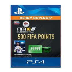 FIFA 18 Ultimate Team - 500 FIFA Points SK (Hra PS4)