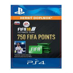 FIFA 18 Ultimate Team - 750 FIFA Points SK (Hra PS4)