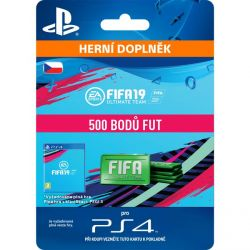 FIFA 19 Ultimate Team (CZ 500 FIFA Points) (Hra PS4)
