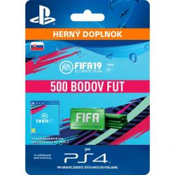 FIFA 19 Ultimate Team (SK 500 FIFA Points) (Hra PS4)
