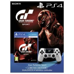 Gran Turismo Sport CZ (ProGamingShop Edition)   DualShock 4 Wireless Controller v2 (Gran Turismo Sport Limited Edition) (Hra PS4)