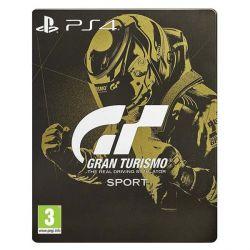 Gran Turismo Sport CZ (Steelbook Edition) (Hra PS4)