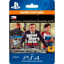 Grand Theft Auto 5 (CZ Criminal Enterprise Starter Pack) (Hra PS4)