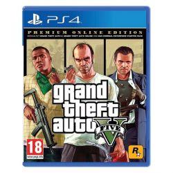 Grand Theft Auto 5 (Premium Online Edition) (Hra PS4)
