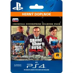 Grand Theft Auto 5 (SK Criminal Enterprise Starter Pack) (Hra PS4)