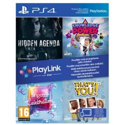 Hidden Agenda   Knowledge is Power   SingStar: Celebration   That's You! CZ (Hra PS4)