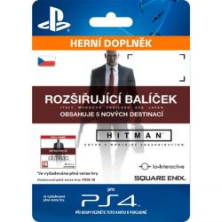 Hitman (CZ Upgrade Pack) (Hra PS4)