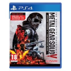 Metal Gear Solid 5: Ground Zeroes   Metal Gear Solid 5: The Phantom Pain (The Definitive Experience) (Hra PS4)