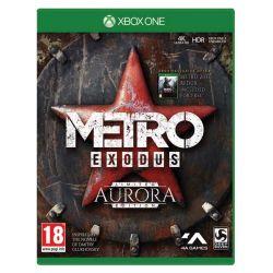 Metro Exodus CZ (Limited Aurora Edition) (Hra XboxOne)