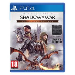 Middle-Earth: Shadow of War (Definitive Edition) (Hra PS4)