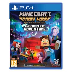 Minecraft: Story Mode (The Complete Adventure) (Hra PS4)