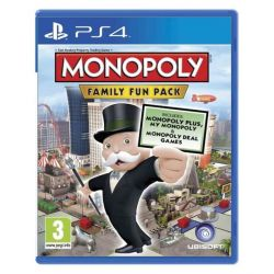 Monopoly: Family Fun Pack (Hra PS4)