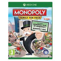 Monopoly: Family Fun Pack (Hra XboxOne)