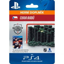 NHL 18 Ultimate Team - 12000 Hockey Points CZ (Hra PS4)