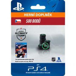 NHL 18 Ultimate Team - 500 Hockey Points CZ (Hra PS4)