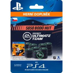 NHL 19 Ultimate Team - 5850 Hockey Points CZ (Hra PS4)