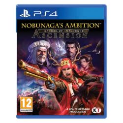 Nobunaga´s Ambition Sphere of Influence: Ascension (Hra PS4)