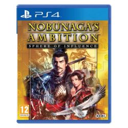Nobunaga´s Ambition: Sphere of Influence (Hra PS4)
