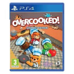 Overcooked (Gourmet Edition) (Hra PS4)