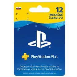 PlayStation Plus predplatné na 365 dní (SK ESD) (Príslušenstvo PS4)