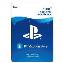 PlayStation Store 1500 Kč - elektronická peňaženka (Príslušenstvo PS4)