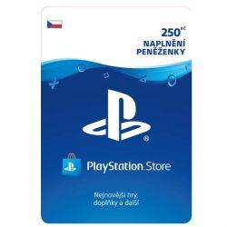 PlayStation Store 250 Kč - elektronická peňaženka (Príslušenstvo PS4)