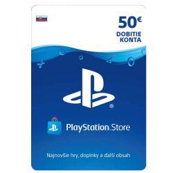 PlayStation Store 50€ - elektronická peňaženka (Príslušenstvo PS4)