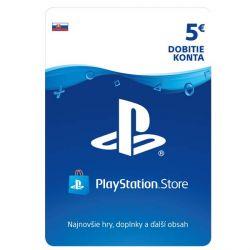 PlayStation Store 5€ - elektronická peňaženka (Príslušenstvo PS4)
