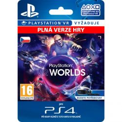 PlayStation VR Worlds (CZ) (Hra PS4)