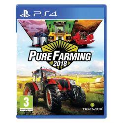 Pure Farming 2018 (Hra PS4)