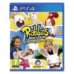 Rabbids Invasion: The Interactive TV Show (Hra PS4)
