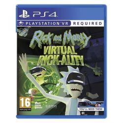 Rick and Morty: Virtual Rick-Ality (Hra PS4)
